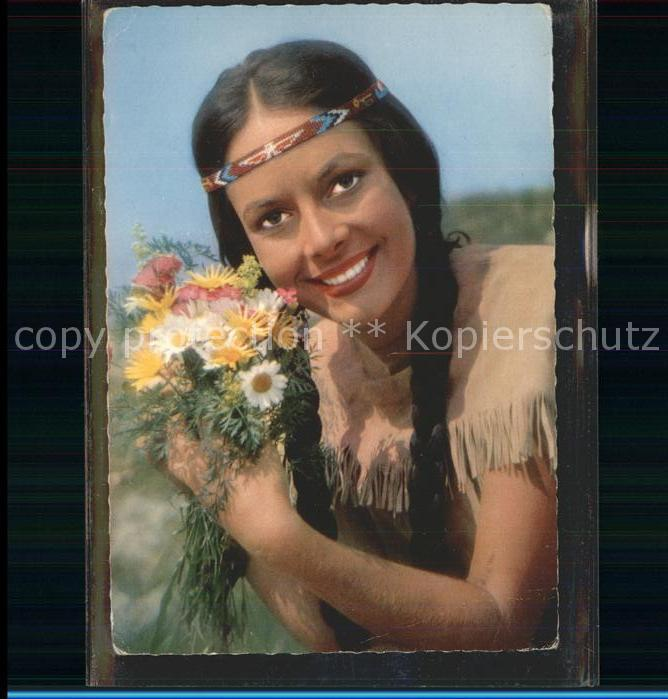 Winnetou Karin Dor Indianer Kat. May Karl