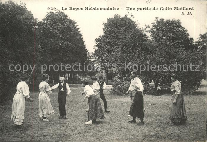 Sport Spiel Repos Hebdomadaire Colin Maillard Kat. Sport