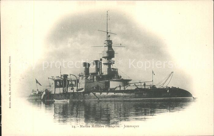 Marine Militaire Francaise Jemmapes Kat. Schiffe