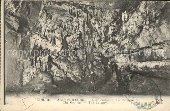 Hoehlen Caves Grottes Arcy Sur Cure  Kat. Berge