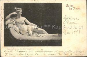 Skulpturen Canova Venere Roma  Kat. Skulpturen