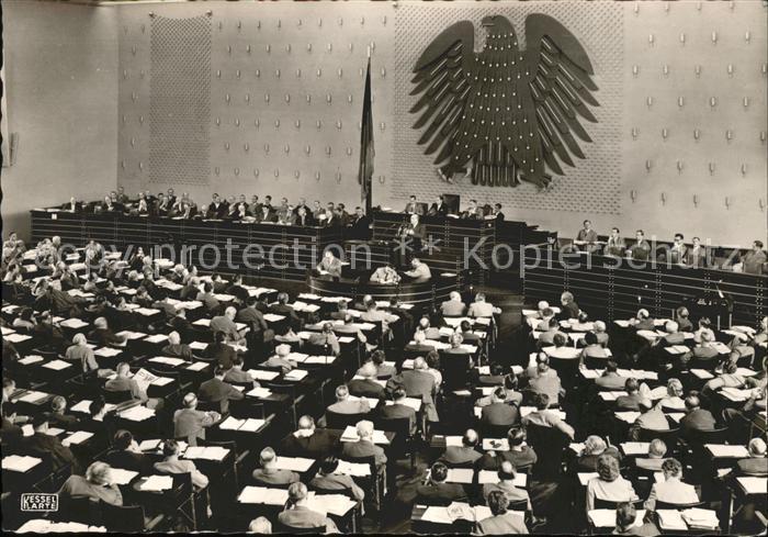Politik Plenarsaal Bundestag Kat. Politik