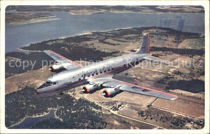 Flugzeuge Zivil American Airlines  Kat. Flug