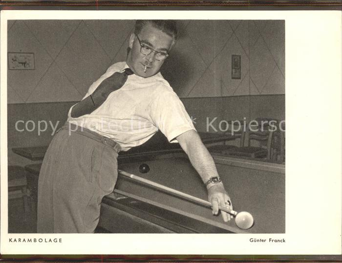 Billard Karambolage Kat Sport Nr Ka20983 Oldthing Sport
