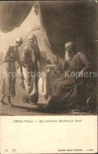 Verlag LL Nr. 32 Orsel Victor  Agar Abraham par Sarah Kat. Verlage
