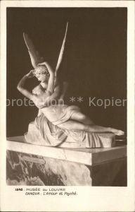 Skulpturen L Amour Psyche Canova Kat. Skulpturen