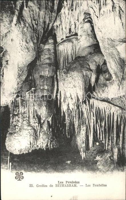 Hoehlen Caves Grottes Betharram Les Dentelles Pyrenees  Kat. Berge