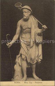 Skulpturen Pescatore Museo Cap. Roma Kat. Skulpturen