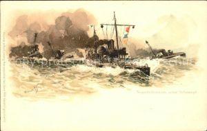 Marine Torpedodivision Litho Meissner und Buch Verlag  Kat. Schiffe