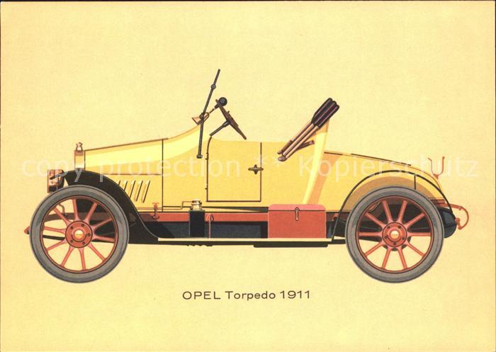 Autos Oldtimer Opel Torpedo 5 14 PS 1911 Kat. Autos