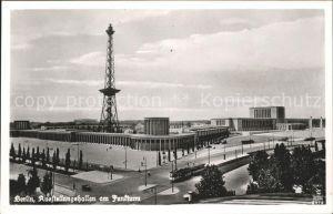 Funkturm Berlin Ausstellungshallen  Kat. Bruecken