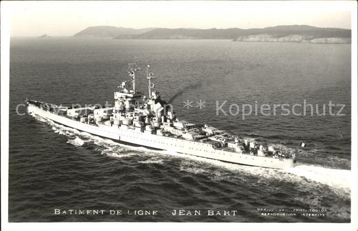 Marine Batiment de Ligne Jean Bart  Kat. Schiffe