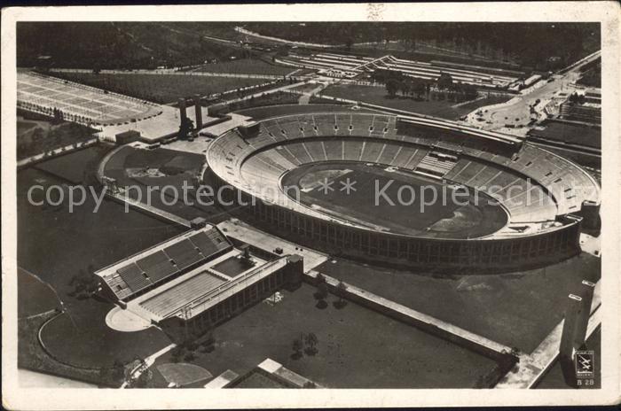 Stadion Olympia Reichssportfeld Olympia Postkarte Nr. 13 Kat. Sport