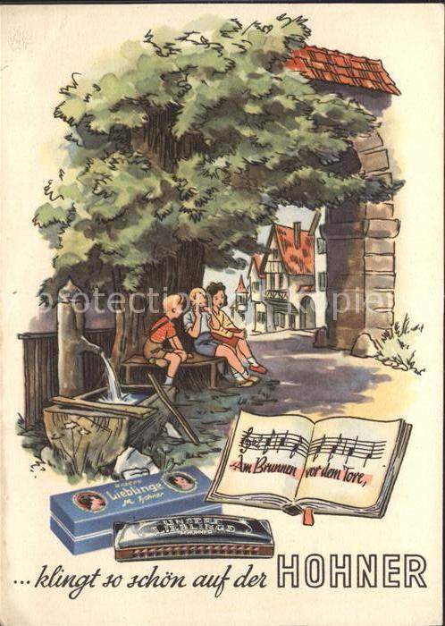 Mundharmonika Hohner Am Brunnen vor dem Tore
