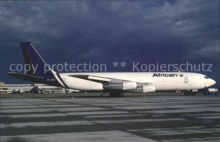 Flugzeuge Zivil Boeing 707 321C c n 19369 5Y AXG African Cargo Kat. Flug