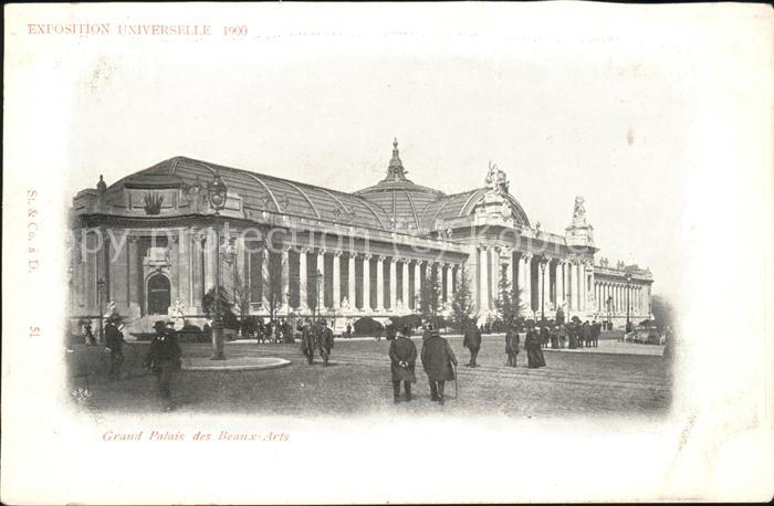 Exposition Universelle Paris 1900 Grand Palais des Beaux Arts Kat. Expositions