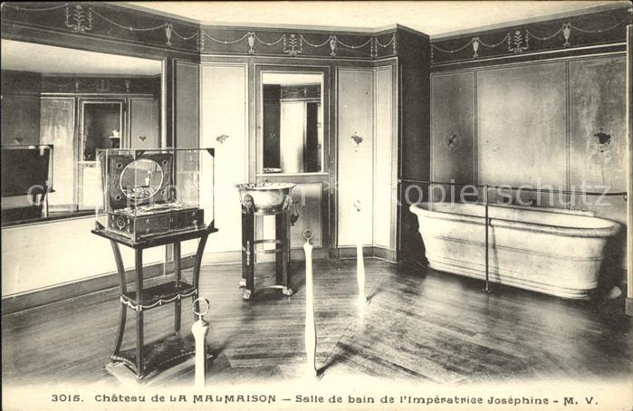 Napoleon Bonaparte Chateau de La Malmaison Salle de bain de l Imperatrice Josephine Kat. Persoenlichkeiten