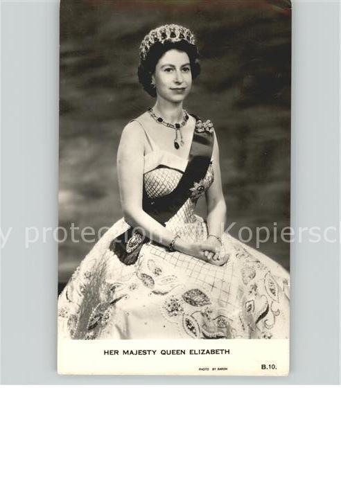 Adel Queen Elizabeth Kat. Koenigshaeuser