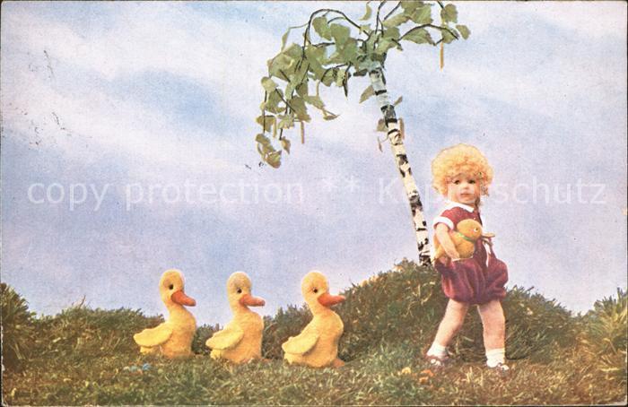Puppen Mutzipuppe Mutzitiere Enten Baum Kat. Spielzeug
