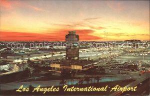 Airport Aeroporto Flughafen Los Angeles International Airport Control Tower  Kat. Flug