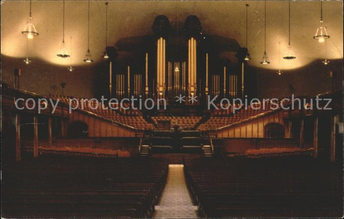 Kirchenorgel Mormon Tabernacle Salt Lake City Utah Kat. Musik