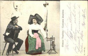Trachten Alsace Elsaesser Costumes alsaciens Kat. Trachten