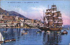 Segelschiffe Monte Carlo Port Hafen  Kat. Schiffe