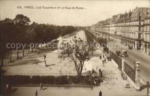 Verlag Noyer (AN Paris) Nr. 291 Paris Les Tuileries et la Rue de Rivoli  Kat. Verlage