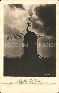 Windmuehle Moulin Tout Vent St. Quentin  Kat. Gebaeude und Architektur