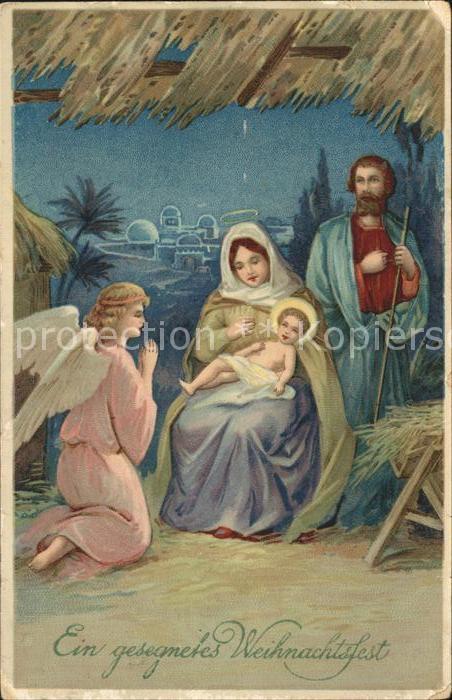 Engel Weihnachten Heilige Familie  Kat. Religion