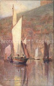 Segelboote White Lady Whitby  Kat. Schiffe