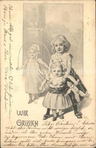 Kinder Child Enfants Seilspringen Puppe  Kat. Kinder
