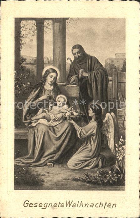Engel Die Heilige Familie Weihnachten  Kat. Religion
