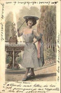 Frauen Mode Hutmode Brunnen  Kat. Frauen