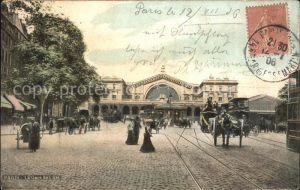 Bahnhof Paris La Gare de l Est  Kat. Eisenbahn