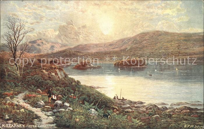 Verlag Tucks Oilette Nr. 7137 Killarney Upper Lake  Kat. Verlage