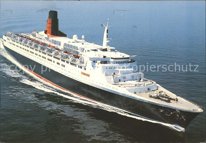 Faehre Queen Elizabeth 2 Kat. Schiffe
