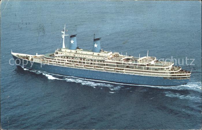 Faehre M.S. Achille Lauro Kat. Schiffe