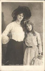 Schauspieler Phyllis and Zena Dare Kat. Kino und Film