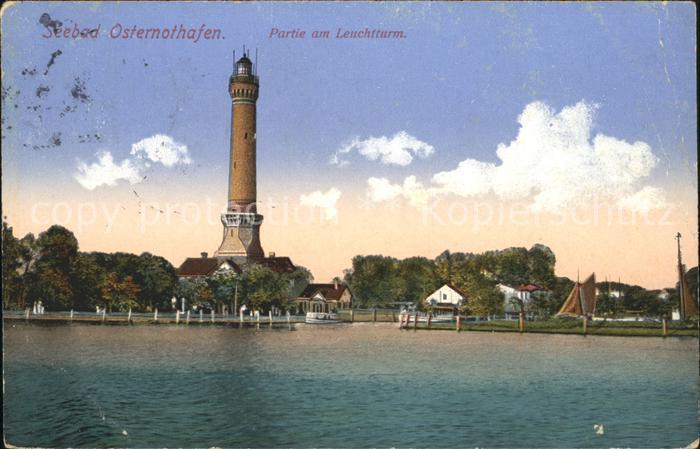 Leuchtturm Lighthouse Osternothafen  Kat. Gebaeude