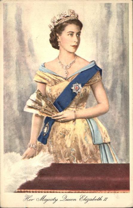 Adel GB Queen Elizabeth II