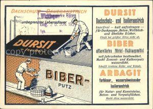 Werbung Reklame Maurer Dachdecker Firma Gustav A. Braun Koeln  Kat. Werbung