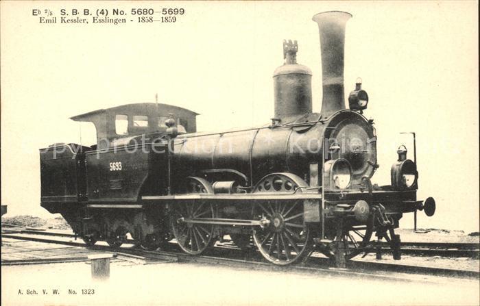 Lokomotive SBB No.  5693 / Eisenbahn /