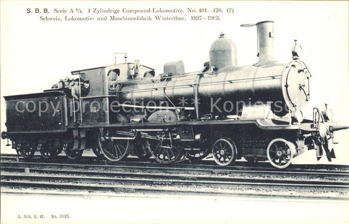 Lokomotive SBB No. 416  / Eisenbahn /