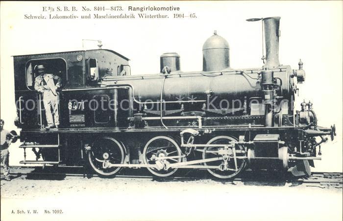 Lokomotive SBB Rangirlokomotive No. 8471 / Eisenbahn /