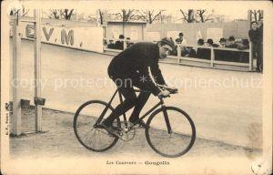 61448008 Radsport Radrennfahrer Jean Gougoltz Fahrrad  Radrennfahrer Jean Gougoltz Fahrrad  Alte Ansichtskarte Postkarte