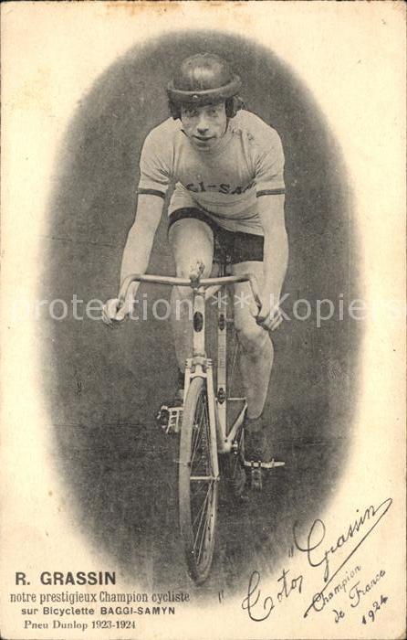 Radsport Radrennfahrer Robert Grassin Fahrrad Baggy-Samyn Autogramm  / Sport /