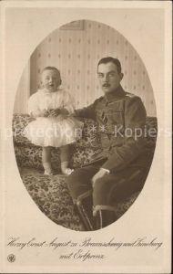 Adel Braunschweig Herzog Ernst August Erbprinz Kriegshilfe Braunschweig 1915 / Koenigshaeuser /