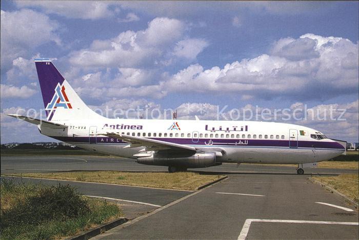Flugzeuge Zivil ANTINEA B 737 200 7T WA Kat. Flug