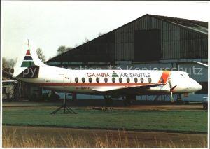 Flugzeuge Zivil Gambia Air Shuttle Vickers Viscount 814 c n 338 Kat. Flug